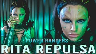 RITA REPULSA Power Rangers Movie Makeup Tutorial (No Prosthetics)