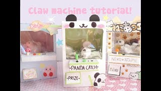 ❤How to make a claw machine!❤