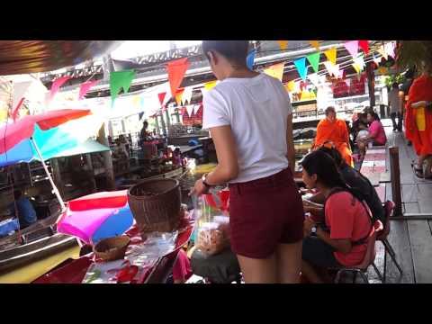 Taling Chad Floating Market BANGKOK Thailand