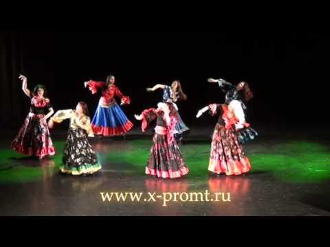 """Цыганский танец """"Нанэ Цоха"""". Gypsy Dance."""