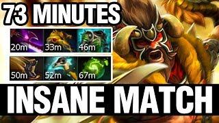 INSANE MATCH - 73 MINUTES - s4 Plays Beastmaster - Dota 2