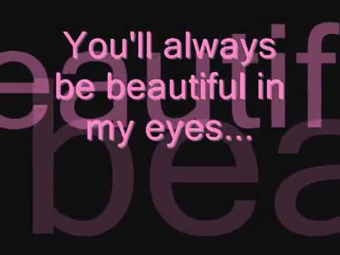 I want to be beautiful lyrics
