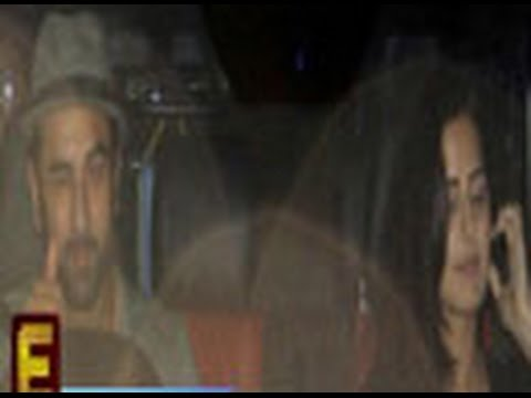 Ranbir Kapoor & Katrina spotted together again!