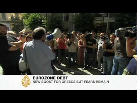 Greek default fears persist