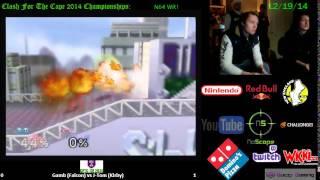 CFTC CE14: Gamb (Falcon) vs J-Tom (Kirby) (WR2, N64)