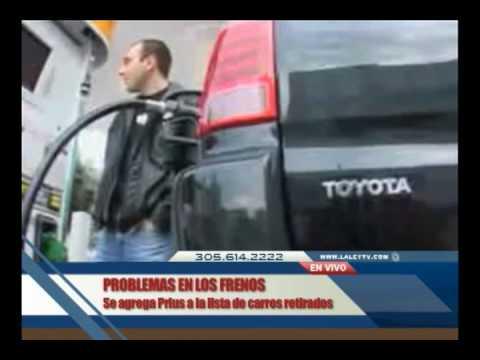 Hybrid Prius Toyota Recall