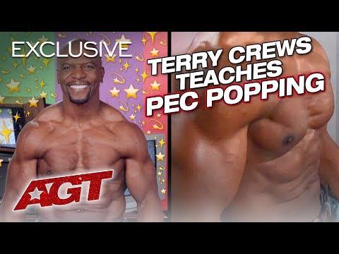 Terry Crews Teaches Pec Popping 101 - America's Got Talent 2019