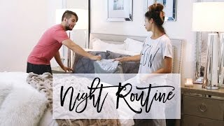 Night Time Routine W. MY HUSBAND