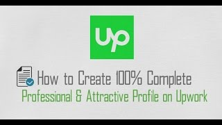 How to create 100% Complete Professional Profile on Upwork in Urdu | Hindi