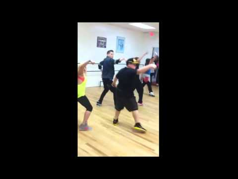 Vinny Castronovo & Thomas Miceli Dancing at Open Class
