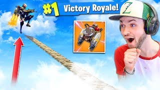 Using JETPACK at *MAX* HEIGH - WHAT HAPPENS? (Fortnite: Battle Royale)