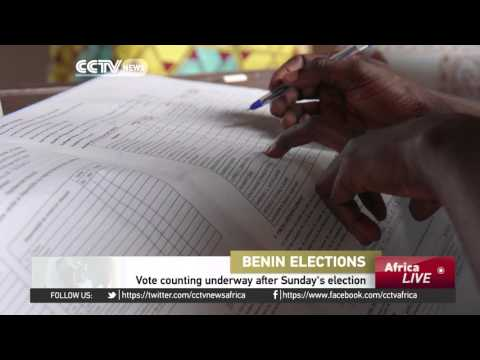 Benin's presidential vote counting underway after Sunday's election