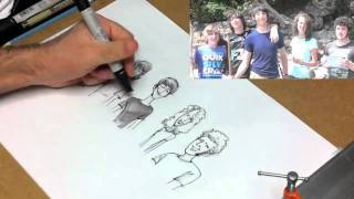 FanSketch: Daniel Smith and Friends