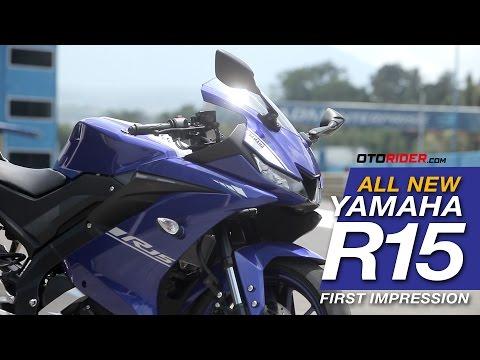 All New Yamaha R15 2017 First Impression - Indonesia (English SUbtitled)   OtoRider