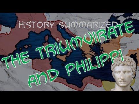 History Summarized: Augustus Versus the Assassins