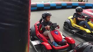 Electric Car Race!!