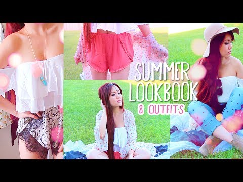 SUMMER LOOKBOOK ✿  8 OUTFIT IDEAS!