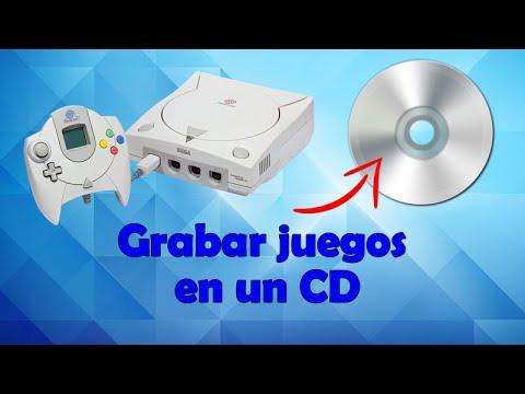 Grabar juegos de SEGA Dreamcast en un CD
