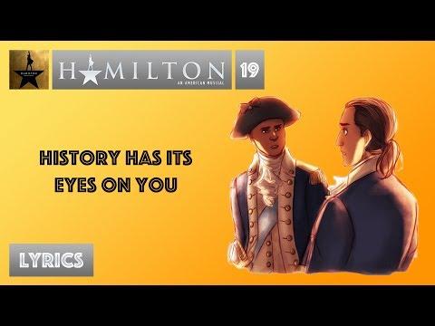 Broadway - Hamilton - History Has Its Eyes On You