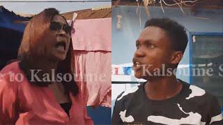 KALSOUME VISITS SHOWBOY'S HOUSE 😂😂😂 (Kalsoume Sinare TV Funny Movie Clip)