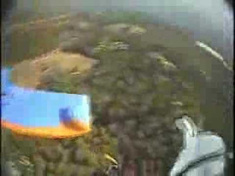 Paraglider Crash!!! Video