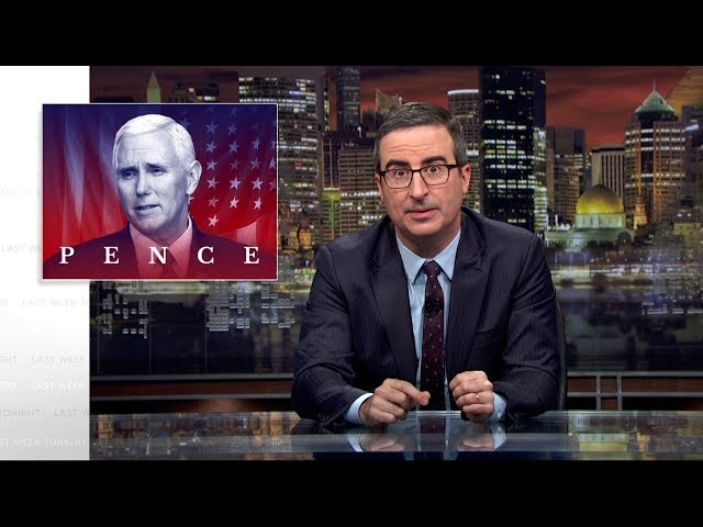 Mike Pence Last Week Tonight with John Oliver HBO