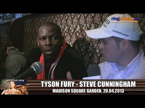 Steve Cunningham talking Tyson Fury (ENG)