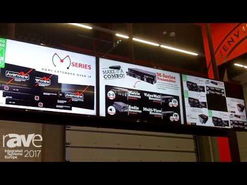 ISE 2017: Avenview Displays SignPro Digital Signage Player