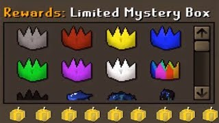 I Bought 5 LIMITED Mystery Boxes ($500) on my Ikov RSPS Group Ironman!! #9
