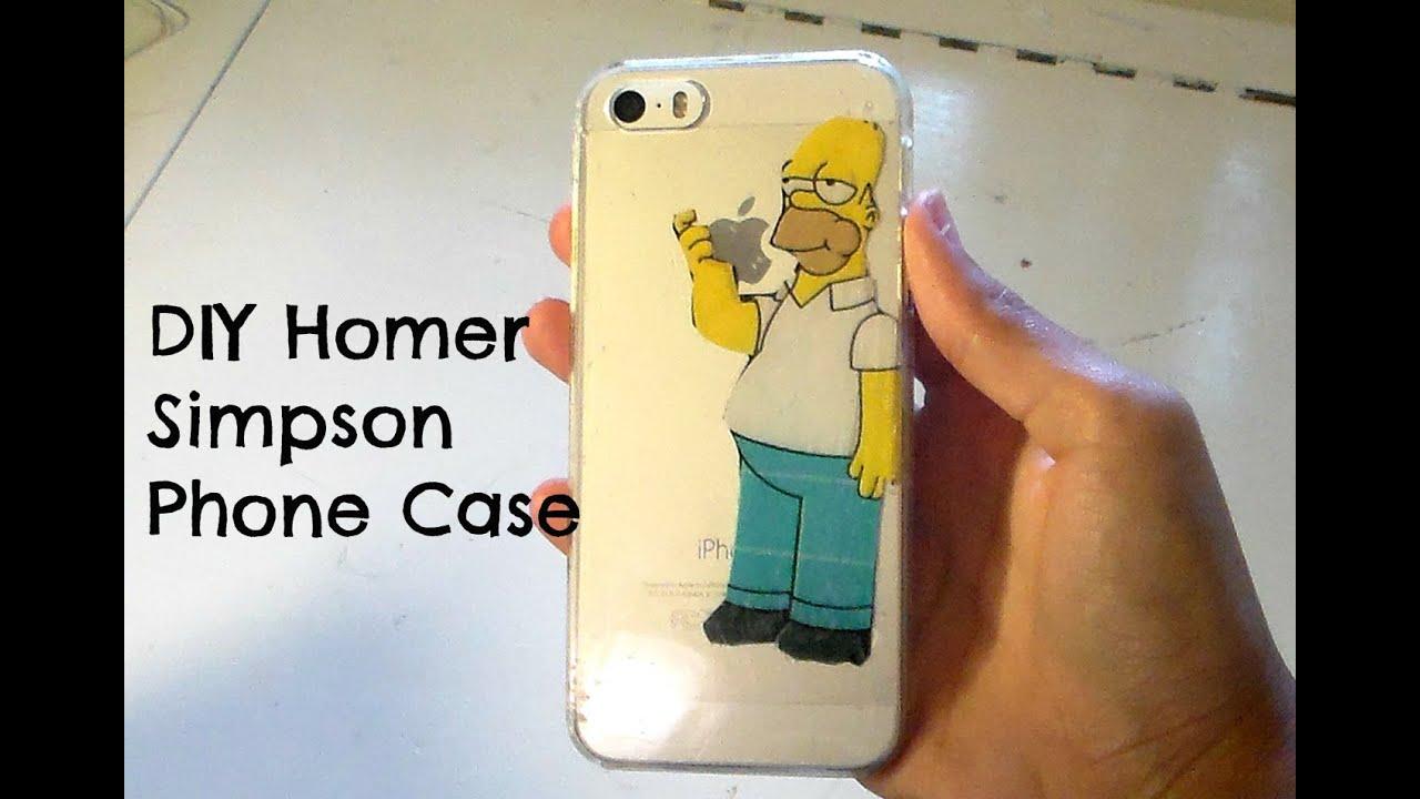 Simpsons Iphone 6 Case Amazon Diy Iphone Case| Homer Simpson