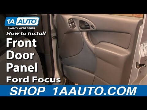How To Install Replace Remove Front Door Panel Ford Focus 00-05 1AAuto.com