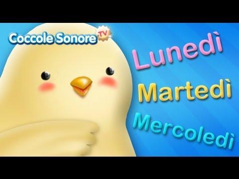 La canzone dei giorni della settimana – Canzoni per bambini di Coccole Sonore