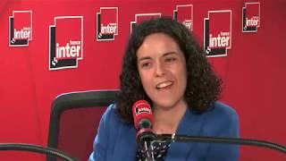 """Manon Aubry : """"Rapprocher le RN et la FI est extrêmement dangereux pour la démocratie"""""""