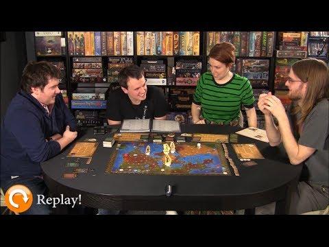 Board Game Replay - Ep. 4 - Tales of the Arabian Nights