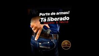 Porte de Armas liberado pelo Presidente Bolsonaro. Por Franklin Assis