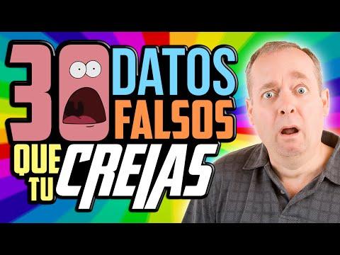 30 DATOS FALSOS QUE TÚ PENSABAS QUE ERAN VERDAD