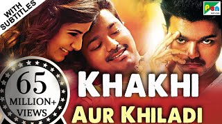 Khakhi Aur Khiladi (Kaththi) Full Hindi Dubbed Movie | Vijay, Samantha, Neil Nitin Mukesh
