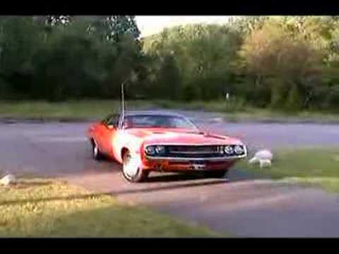 Ron's 70 Challenger - Burnout Video