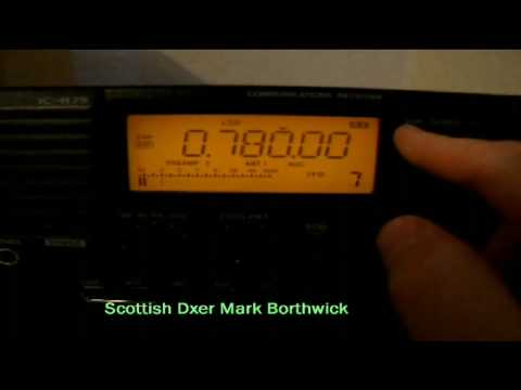 MW DX Radio Coro 780khz From Venezuela Received In Scotland On Icom R75 and EWE Antenna