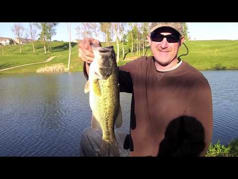 Fishing For Spring Time Bass With The Zoom Super Fluke