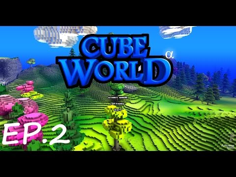 Cube World ตอนที่ 2 : อัศวินขี่แมวออกลุย