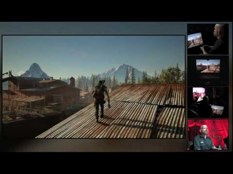 YouTube Live at E3 2016 - Days Gone Gameplay Reveal