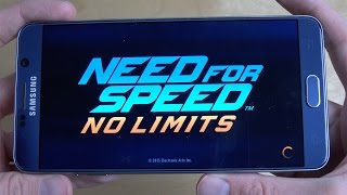 Need For Speed No Limits Samsung Galaxy Note 5 Gameplay Review
