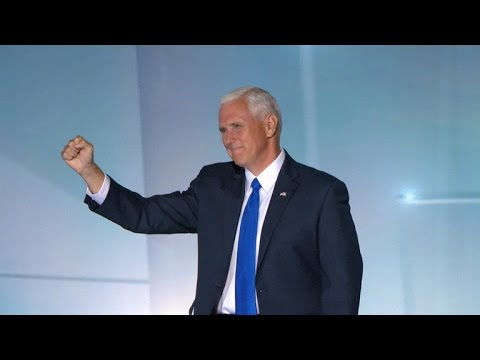 VP nominee Mike Pence tries to unite fractured GOP