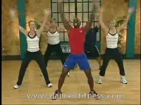 Dance Exercise Dvd   Really Fun &amp  Easy To Follow