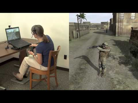 Pointman User Interface for Dismounted Infantry Simulation
