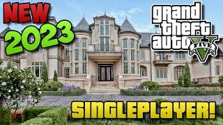 GTA 5 - How To Buy Houses in Singleplayer! (GTA 5 Easter Egg / Glitch Tutorial Parody!)