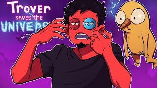 100% THE FUNNIEST GAME I'VE *EVER* PLAYED! | Trover Saves the Universe (Part 1)