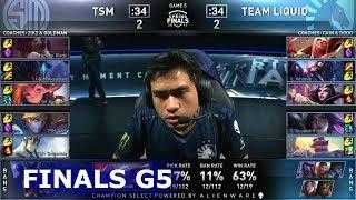 TL vs TSM - Game 5 | Finals S9 LCS Spring 2019 | Team Liquid vs TSM G5