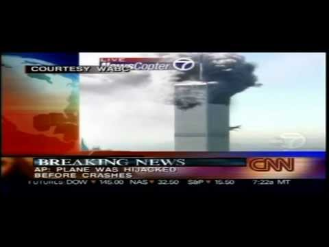 September 11 2001 As It Happened - CNN Live 8.40am - 10.11am
